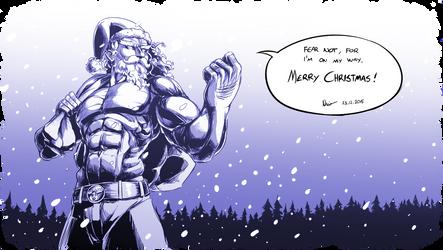 SANTA POWER! Merry Christmas! by Nsio