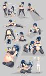 Nsio Pose Practice 14: Sachiko! by Nsio