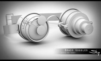 Brass Goggles 2.0 by Sky-of-ragnarok