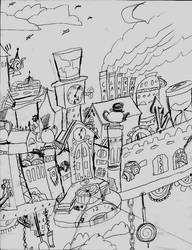 Clockmaker's fort Remade Sketch by Vatoff2