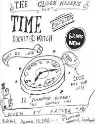 Anthony's watch poster by Vatoff2