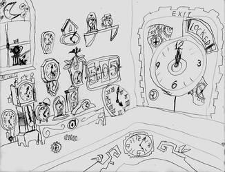 Clock puzzle by Vatoff2