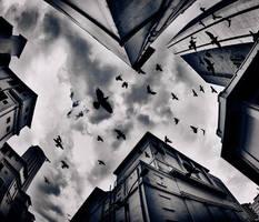 Beautiful City of The Dead by lxrichbirdsf