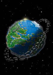 Planet Cartoon by creationtakesun