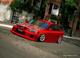 Gran Turismo 4 Mazda 6 by kamsuy22