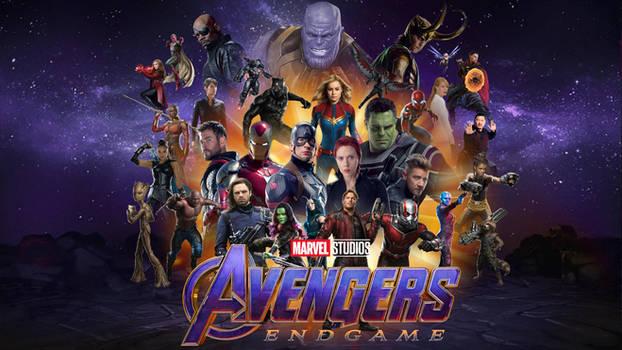 Avengers Endgame Desktop Wallpaper Play Movies One
