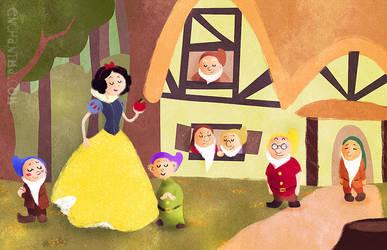 Snow White by enchantma