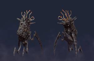 spongebug zbrush renderings by pixelchaot
