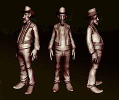 cowboy by pixelchaot