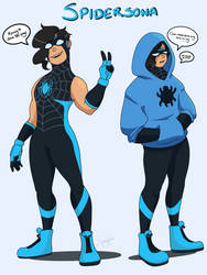 Spidersona by abvirtual