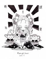 HAPPY NEW YEAR !! by u6o6u