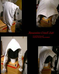 Assassins creed hat by Ryuuzaki-L-spy-19