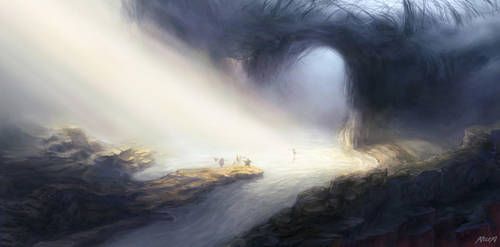 Journey to the Valley of Death by xelex03