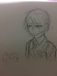 [EBF sketch] I hate cat... by Kimoichan