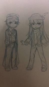 [EBF Skecht] Matt and Lance by Kimoichan