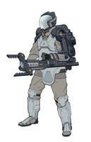 AM4 - Heavy Class Hazmat Disposal Suit by PHATandy