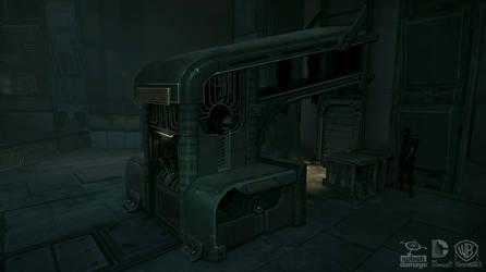 Batman Arkham Origins: FactoryFloor by PHATandy