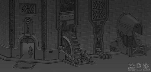 Batman Arkham Origins: RobotArmy Machinellania by PHATandy