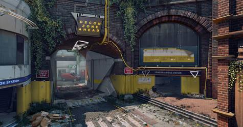 DirtyBomb: London Bridge Checkpoint by PHATandy