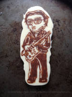 Chocolate Chibis - Buck Dharma (Blue Oyster Cult) by TheEmily1220