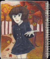 Sketchbook Drawing 15 - First Day of Fall! by TheEmily1220