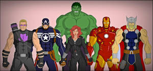 The Avengers by DraganD