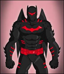 Batman - Hellbat suit by DraganD