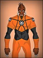 Larfleeze (Agent Orange) by DraganD
