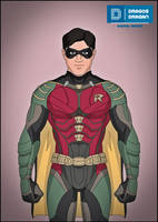 Robin (Titans) by DraganD