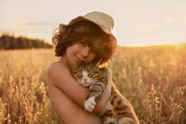 cat by monikha