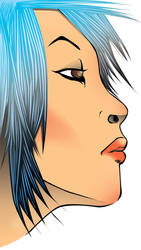 Blue Lass by RoninRicco