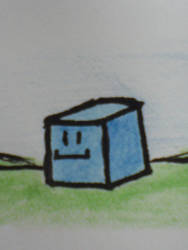 Boxy, the taker of maths by Andernoo