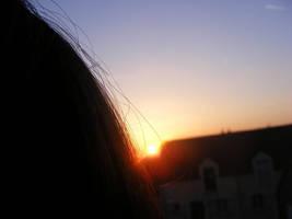 coucher de soleil by pitchoonett