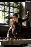 Lara croft Mexique by pitchoonett