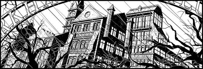 Arkham Asylum (The Comedian's Taboo) by ElieBongrand