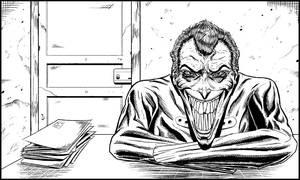 The Joker (The Comedian's Taboo) by ElieBongrand