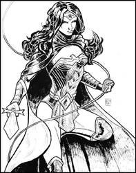 Wonder Woman Rebirth by ElieBongrand