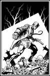 Hellboy by ElieBongrand