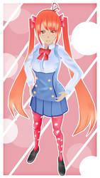 Love Sick : Osana Najimi (With a new uniform!) by Potixhe