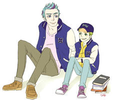 MU - Mike and sully by YaLHi
