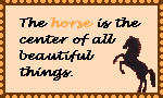 Horse Stamp by coyearth