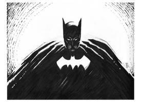Bat Sketch by bamf27art