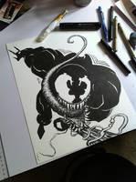 Venom inktober by bamf27art