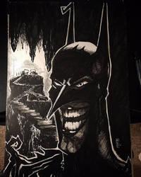 A New BATS in Gotham by bamf27art