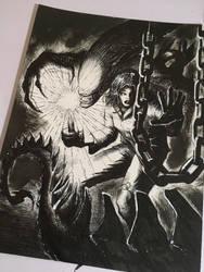 Firefly vs Aliens by bamf27art