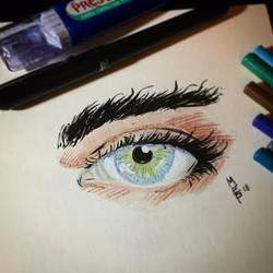 Quick Eye by bamf27art