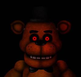 Freddy Fazbear (Oh god... He's scary) by Evanest