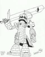 Mega Man Robot Master: Palace Man by UnstableReactor