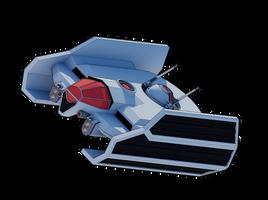 Retribution-Class Escort Fighter by Myriagonic