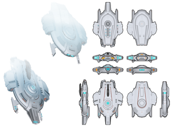 Gallant-Class Tactical Escort by Myriagonic